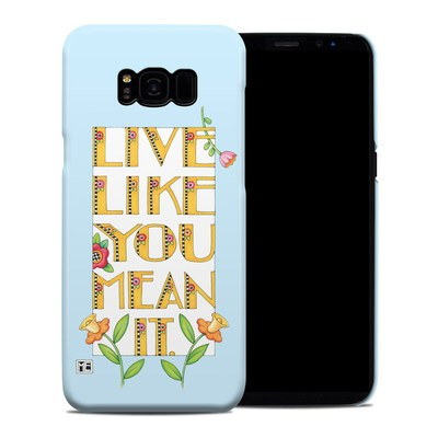 Samsung Galaxy S8 Plus Clip Case - Mean It
