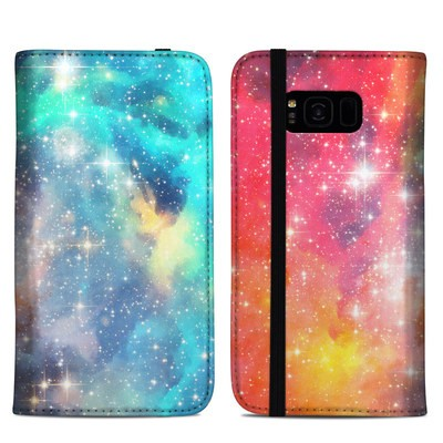 Samsung Galaxy S8 Plus Folio Case - Galactic
