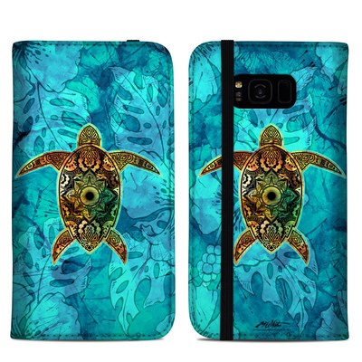 Samsung Galaxy S8 Plus Folio Case - Sacred Honu