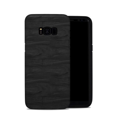 Samsung Galaxy S8 Plus Hybrid Case - Black Woodgrain