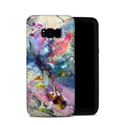 Samsung Galaxy S8 Plus Hybrid Case - Cosmic Flower