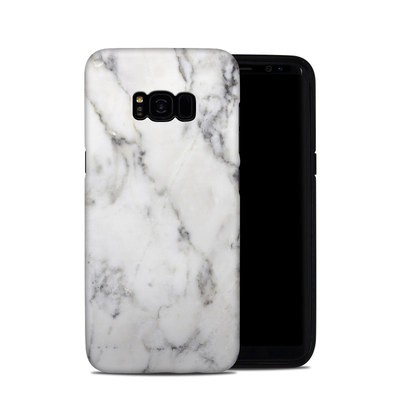 Samsung Galaxy S8 Plus Hybrid Case - White Marble