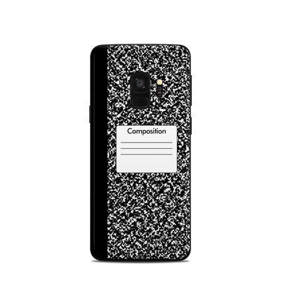 Samsung Galaxy S9 Skin - Composition Notebook