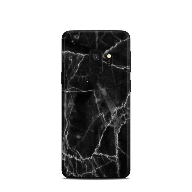 newest 3bf67 c56f3 Samsung Galaxy S9 Skin - Black Marble