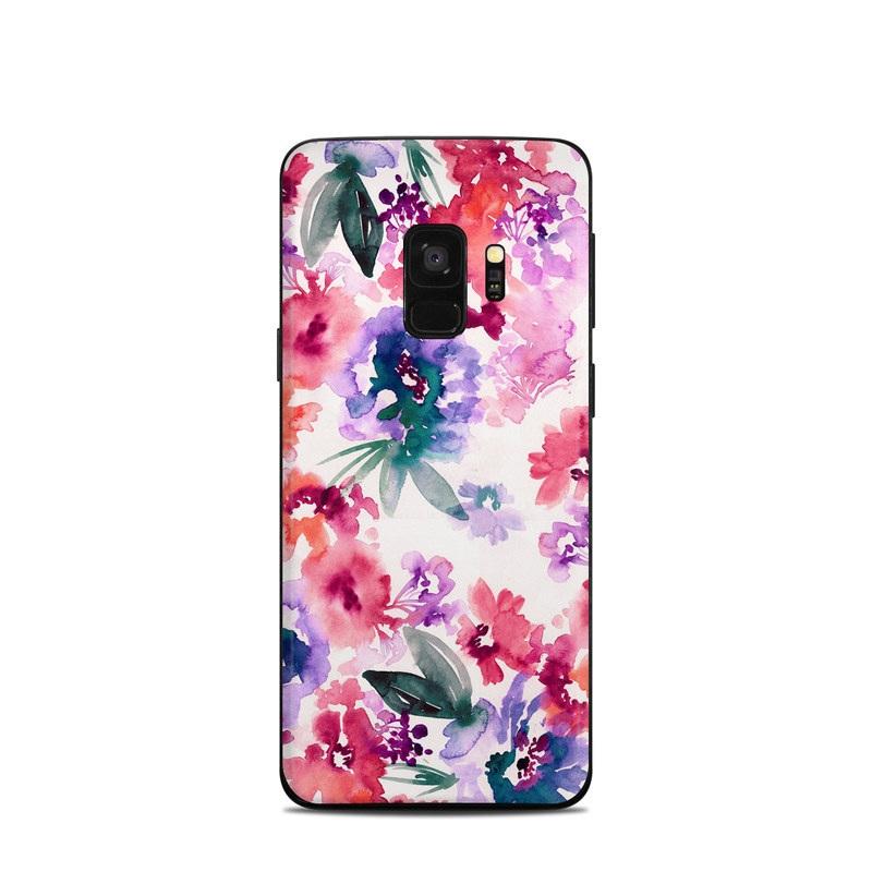 Samsung Galaxy S9 Skin - Blurred Flowers
