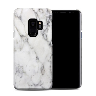 Samsung Galaxy S9 Clip Case - White Marble