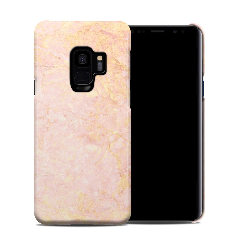 Samsung Galaxy S9 Clip Case Rose Gold Marble By Marble