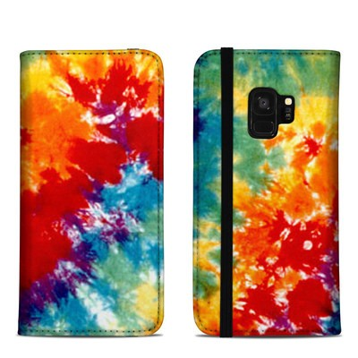 Samsung Galaxy S9 Folio Case - Tie Dyed