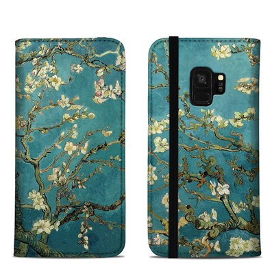 Samsung Galaxy S9 Folio Case - Blossoming Almond Tree