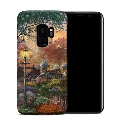 Samsung Galaxy S9 Hybrid Case - Autumn in New York