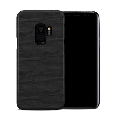 Samsung Galaxy S9 Hybrid Case - Black Woodgrain