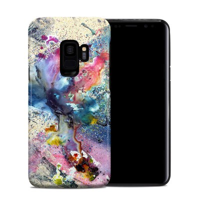 Samsung Galaxy S9 Hybrid Case - Cosmic Flower