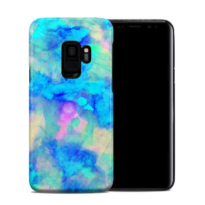 Samsung Galaxy S9 Hybrid Case - Electrify Ice Blue