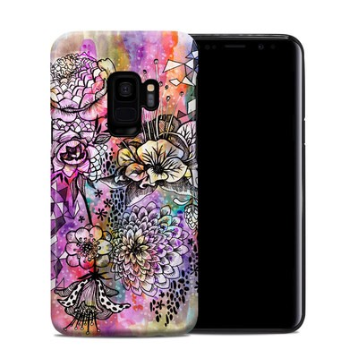 Samsung Galaxy S9 Hybrid Case - Hot House Flowers