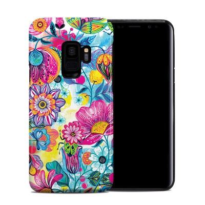 Samsung Galaxy S9 Hybrid Case - Natural Garden
