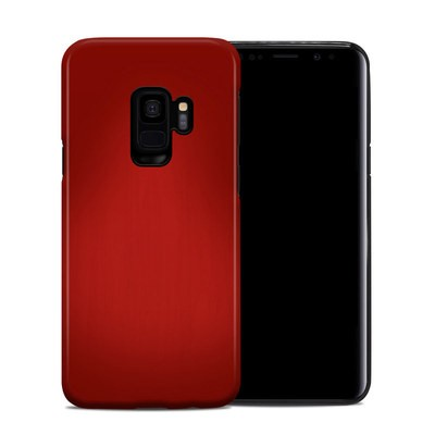 Samsung Galaxy S9 Hybrid Case - Red Burst