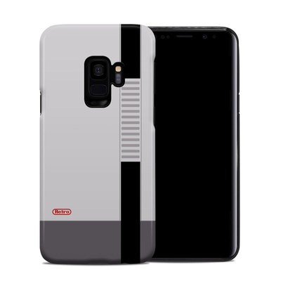 Samsung Galaxy S9 Hybrid Case - Retro Horizontal