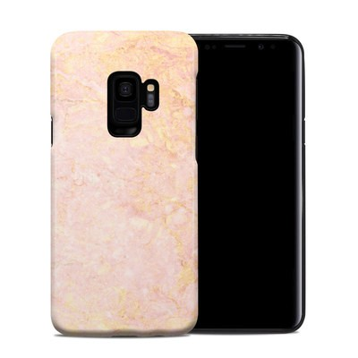 Samsung Galaxy S9 Hybrid Case - Rose Gold Marble