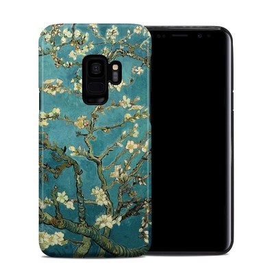 Samsung Galaxy S9 Hybrid Case - Blossoming Almond Tree
