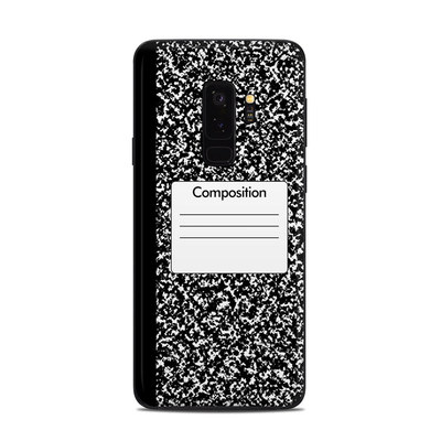 Samsung Galaxy S9 Plus Skin - Composition Notebook