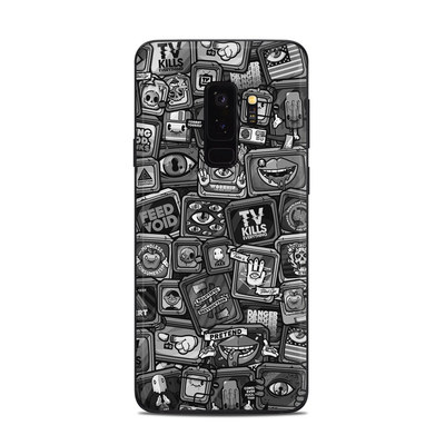 Samsung Galaxy S9 Plus Skin - Distraction Tactic B&W