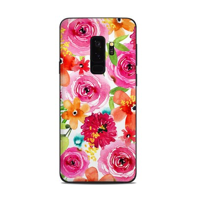 Samsung Galaxy S9 Plus Skin - Floral Pop