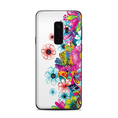 Samsung Galaxy S9 Plus Skin - Intense Flowers