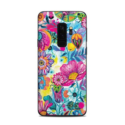 Samsung Galaxy S9 Plus Skin - Natural Garden