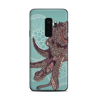 Samsung Galaxy S9 Plus Skin - Octopus Bloom