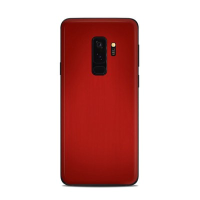 Samsung Galaxy S9 Plus Skin - Red Burst
