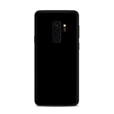 Samsung Galaxy S9 Plus Skin - Solid State Black