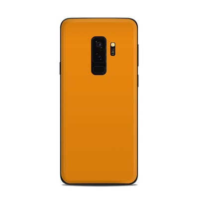 Samsung Galaxy S9 Plus Skin - Solid State Orange