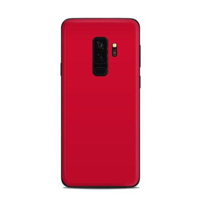 Samsung Galaxy S9 Plus Skin - Solid State Red