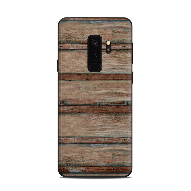 sports shoes b478b 56174 Samsung Galaxy S9 Plus Skin - Boardwalk Wood