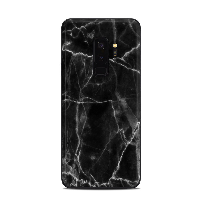 quality design 9eb62 e3535 Samsung Galaxy S9 Plus Skin - Black Marble