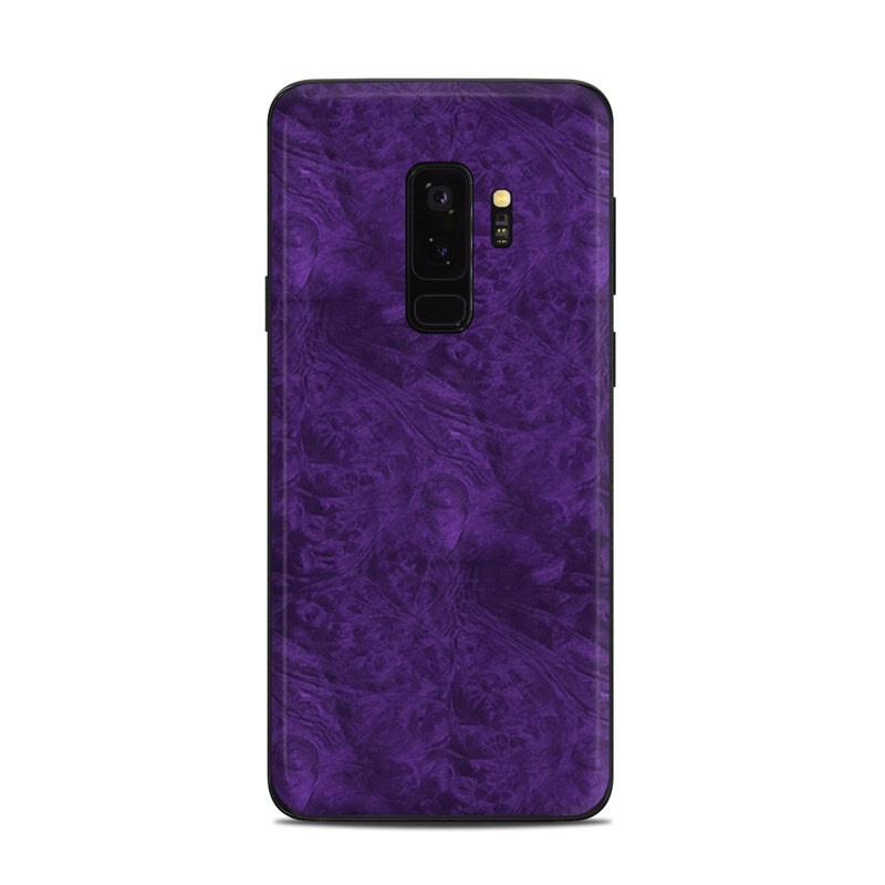 promo code 006e3 73553 Samsung Galaxy S9 Plus Skin - Purple Lacquer by DecalGirl Collective