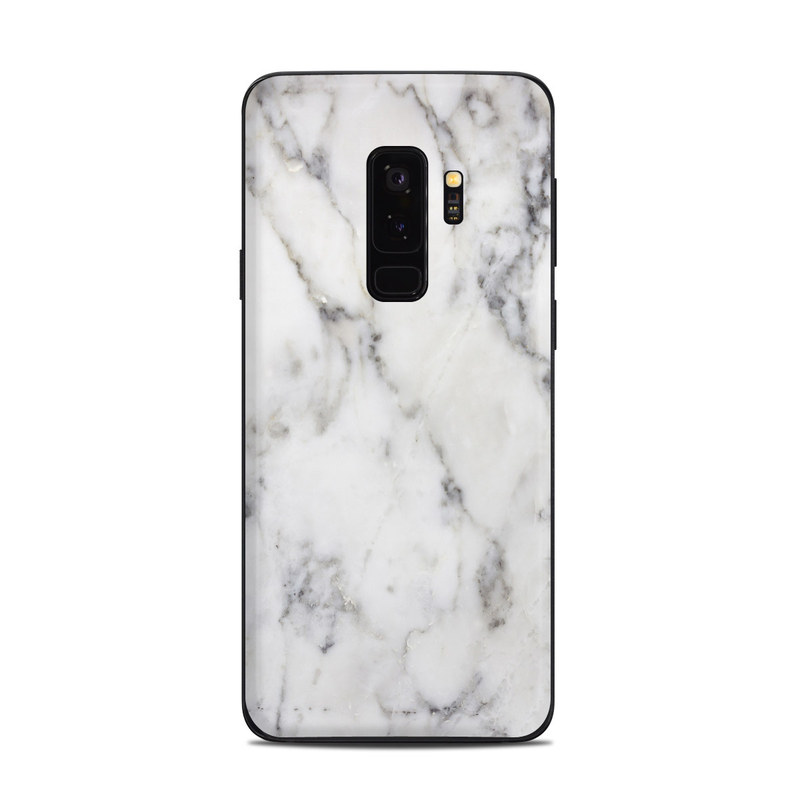 newest collection 241f8 dcf6c Samsung Galaxy S9 Plus Skin - White Marble