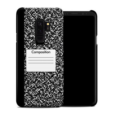 Samsung Galaxy S9 Plus Clip Case - Composition Notebook