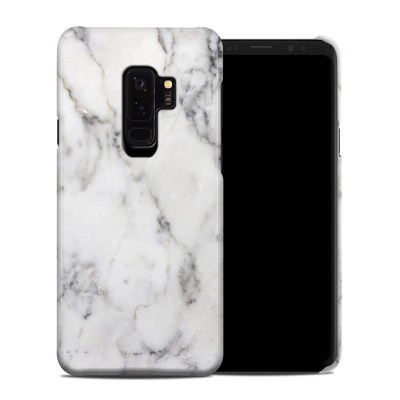 Samsung Galaxy S9 Plus Clip Case - White Marble