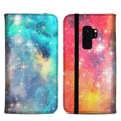 Samsung Galaxy S9 Plus Folio Case - Galactic