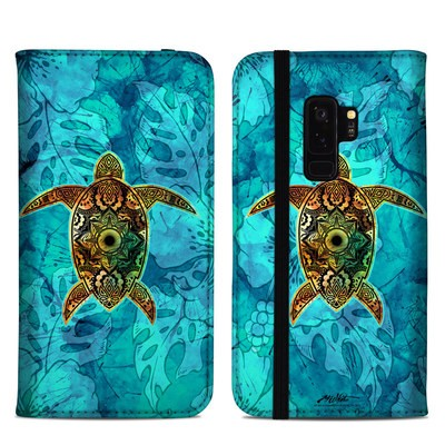Samsung Galaxy S9 Plus Folio Case - Sacred Honu