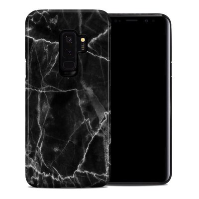 Samsung Galaxy S9 Plus Hybrid Case - Black Marble