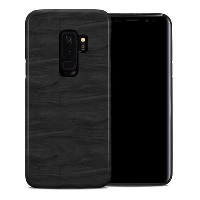 Samsung Galaxy S9 Plus Hybrid Case - Black Woodgrain