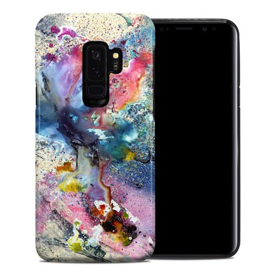 Samsung Galaxy S9 Plus Hybrid Case - Cosmic Flower