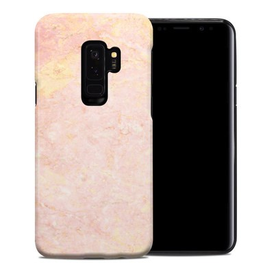 Samsung Galaxy S9 Plus Hybrid Case - Rose Gold Marble