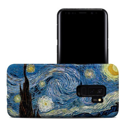 Samsung Galaxy S9 Plus Hybrid Case - Starry Night