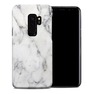 Samsung Galaxy S9 Plus Hybrid Case - White Marble