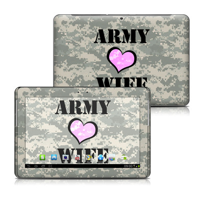 Samsung Galaxy Tab 2 10-1 Skin - Army Wife
