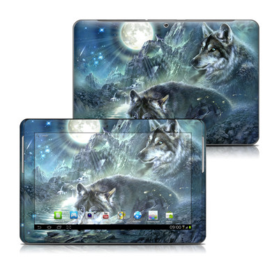 Samsung Galaxy Tab 2 10-1 Skin - Bark At The Moon