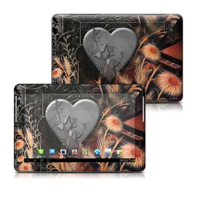 Samsung Galaxy Tab 2 10-1 Skin - Black Lace Flower